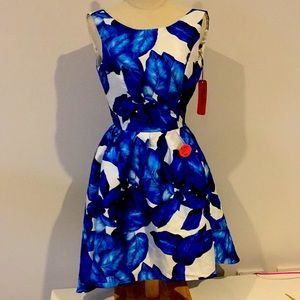 Chi Chi London Blue Cocktail Party Dress
